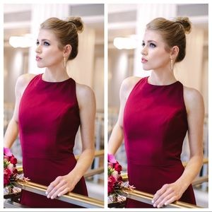 Hayley Paige Occasions style 5816 - Burgundy Dress